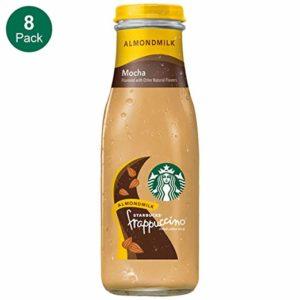 Starbucks Almond Milk Frappuccino, Mocha, 13.7 Fl. Oz (8 Count)