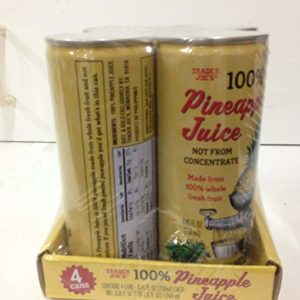 Trader Joe's 100% Pineapple Juice