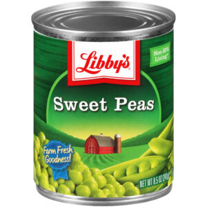 Libby's Sweet Peas, 8.5 Ounces (Pack of 12)