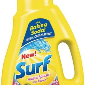 Surf Liquid Laundry Detergent, Aloha Splash, 50 Ounce