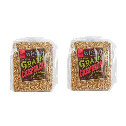 Trader Joe's Whole Grain Crispbread 7.75 Ounce Bag (2 Pack)