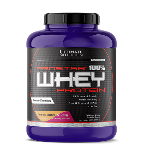 Ultimate Nutrition PROSTAR 100% Whey Protein Powder - Low Carb, Keto Friendly - 80 Servings, Chocolate Crème, 5.28 Pounds