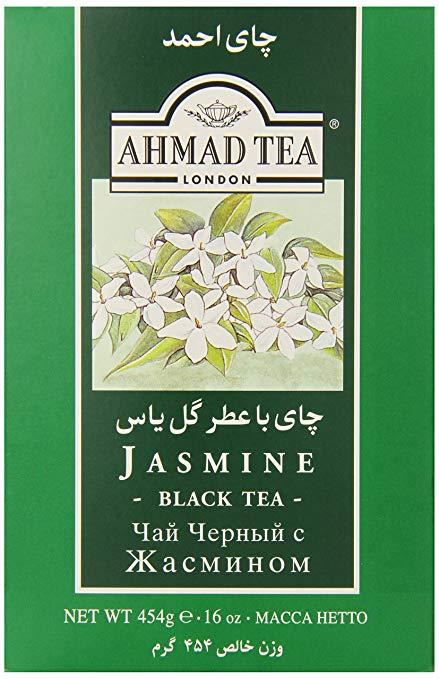 Ahmad Tea Loose Jasmine Black Tea, 16 Ounce