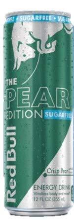 Red Bull Editions Sugar Free - The Crisp Pear, 12fl.oz. (Pack of 8)