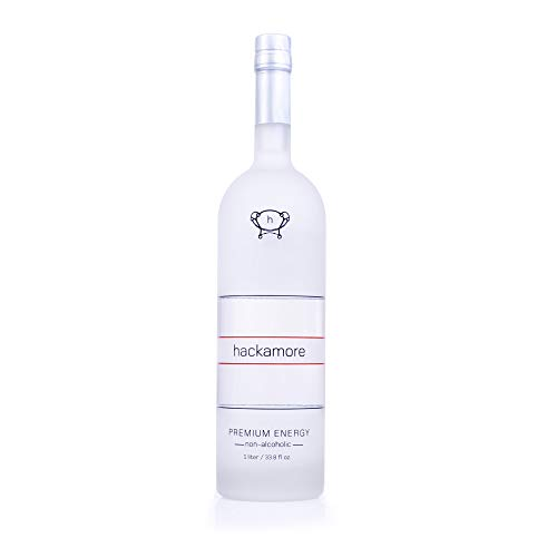 Hackamore Premium Energy Non Alcoholic Shot | Non Alcoholic Spirits With Zero Calorie, Sweetener And Sugar | Smooth-tasting Non Alcoholic Beverage On Its Own Or As A Mixing Base | 33.8 fl oz