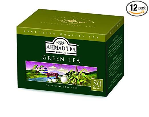 Ahmad Tea English Scene Green Tea, Jasmine, 3.5 Ounce