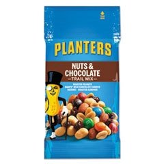 """Planters - Trail Mix Nut & Chocolate 2Oz Bag 72/Carton \""""Product Category: Breakroom And Janitorial/Beverages & Snack Foods\"""""""