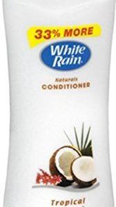 White rain classic hair conditioner, tropical coconut - 15 oz