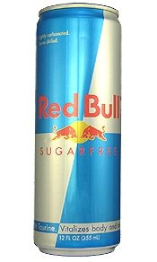 Red Bull Energy Drink - SugarFree - 12fl.oz. (Pack of 16)