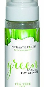 Intimate Earth Love Naturally Green Foaming Toy Cleaner 6.8 oz with Free JO H20 Lube