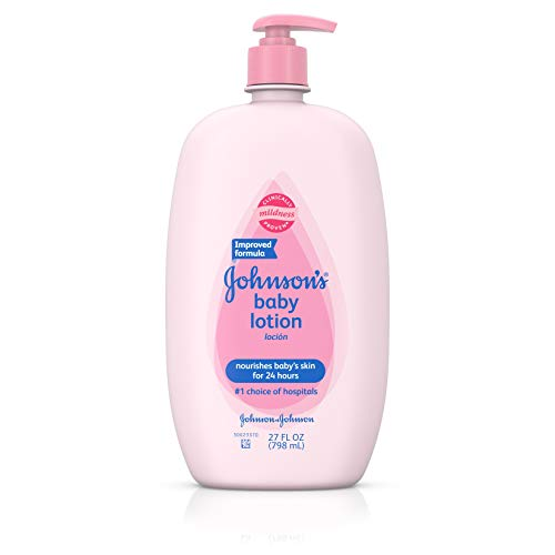 Johnson's Baby Lotion, Moisturizer For Sensitive Skin, 27 Fl. Oz.