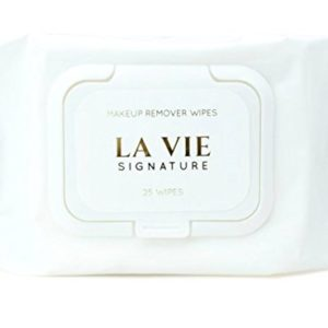 LA VIE Makeup Remover Non-irritating Eye Makeup Remover, Facial Cleansing Wipes (2 Pack, 50 Count) | No Alcohol & No Paraben | Hypoallergenic & Dermatologist Tested for Sensitive Skin | Made in Korea
