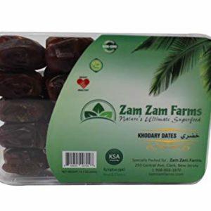Zam Zam Khodary Dates 400g Imported from Saudi Arabia