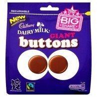 CADBURY DAIRY MILK GIANT BUTTONS LARGE BAG by Cadbury