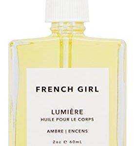 French Girl Organics - Organic/Vegan Lumiere Body Oil (Ambre/Encens) (2 oz)