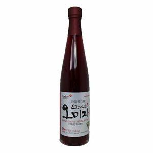 Korean Premium Blending Omija Cheong Extracts from MunGyeong 10.14 / 16.9 oz | Natural Syrup Juice Halal ISO22000 HACCP Certificates Kfoods Mukbang [오미자청] (16.9oz (500ml))