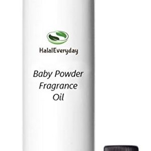 Baby Powder Fragrance/Body Oil 4 Oz. By HalalEveryDay