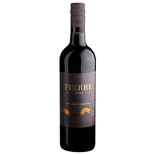 Pierre Chavin Prestige Merlot Rouge Non-Alcoholic Red Wine 750ml