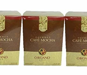 3 Box of Organo Gold 100% Certified Ganoderma Gourmet - Gourmet Cafe Mocha (15 sachets)