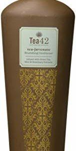 Tea42 - Tea-Juvenate Premium Nourishing Conditioner, Herbal Infused Caffeinated Haircare, Sulfate-Free, 12 Ounce