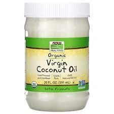 Coconut Oil Virgin Organic Non GE 20 Ounces