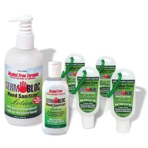 GermBloc Alcohol Free Hand Sanitizer Lotion Back To School Pack