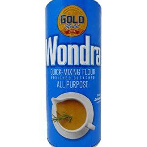 Wondra All Purpose Quick-Mixing Sauce 'N Gravy Flour 13.5 oz (Pack of 2)