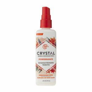 Crystal Mineral Deodorant Spray, Pomegranate, 4.0 oz