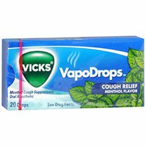 Vicks Cough Drops Menthol - 20 X 20