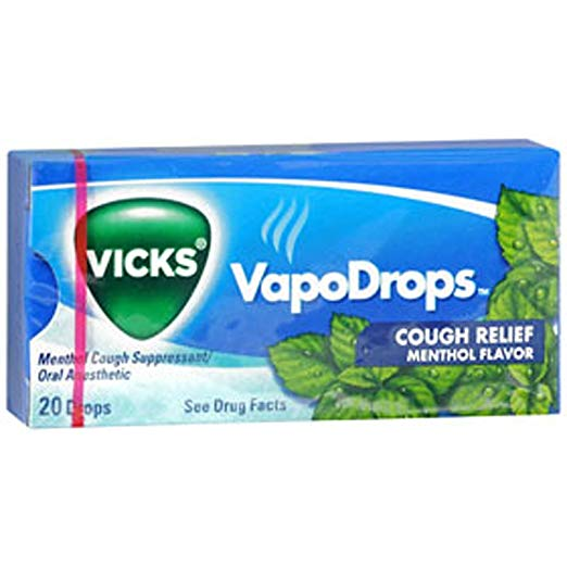 Vicks Cough Drops Menthol - 20 X 20
