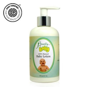 Finally Pure - Daily Moisturizing Baby Lotion, Unscented - 8 oz