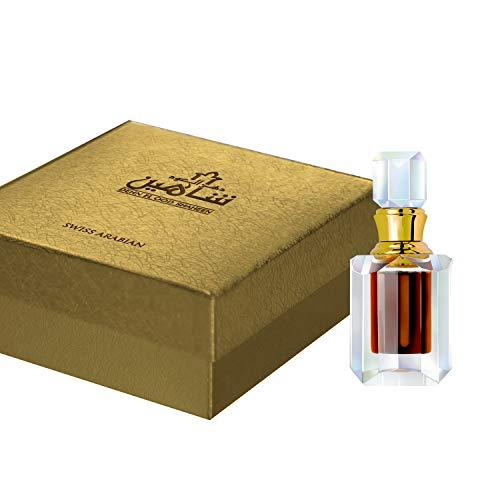 Dehn El OOD Shaheen (Unisex) 6mL, an alcohol free and organic Oudh Attar for men and women by perfume artisan Swiss Arabian Oud in Dubai, UAE.