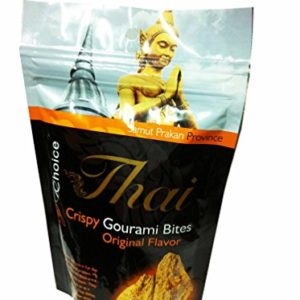 2 Packs of Crispy Gourami Bites Original Flavor, Delicious Snack From My Choice Thai Brand, Gap, GMP and Halal Certifications. 4 or 5 Strar Otop Rating Approved. (80 G/ Pack)