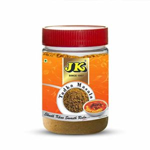 JK TADKA MASALA 3.53 Oz, 100g (Dal Tadka Masala, Dhal or Lentil Curry Spice Mix) Add Seasoning to Soups and Stews, for Easy Instant Flavor in Variety of Dishes