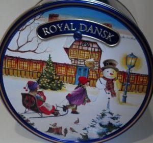 Royal Dansk Danish Cookies, Butter, 5 Pound