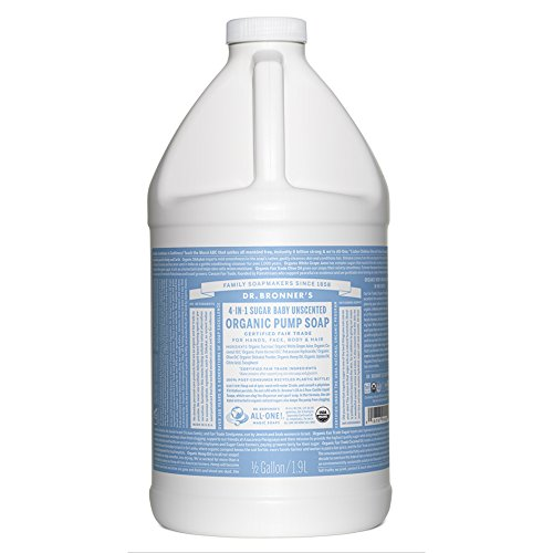 Dr. Bronner's Organic Sugar Soap - 64 oz. Refill (Lemongrass Lime)