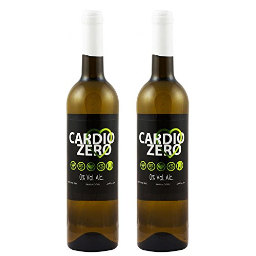 Elivo Cardio Zero White Non-Alcoholic White Wine 750ml (2 Bottles)