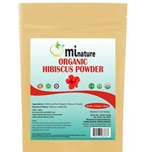 mi nature Hibiscus Powder Zip Lock Pouch, 114g