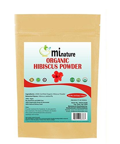 mi nature Hibiscus Powder Zip Lock Pouch, 114g