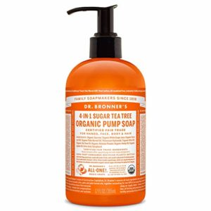 Dr. Bronner's Organic Sugar Soap - 64 oz. Refill (Lemongrass Lime)