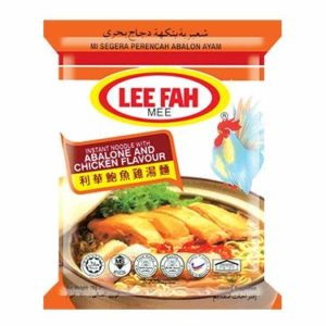 LEE FAH NOODLES ASSORTED FLAVOUR - 70g - Pack of 5 (SINCE 1955) HALAL CERTIFIED (Abalone & Chicken)