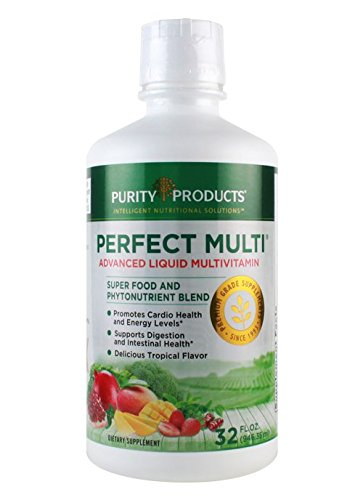 Liquid Perfect Multi - Advanced Liquid Multivitamin Super Food & Phytonutrient Blend - from Purity Products