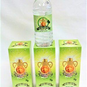 4 Bottles - 16.9Fl.Oz. of Jar Zamzam Water - From Mekkah Saudi Arabia - ماء زمزم من مكة المكرمة 4 عبوات