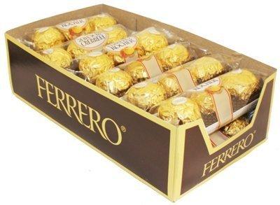Ferrero Rocher Hazelnut Chocolate 12/3Pk - TJ11