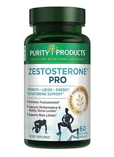 Zestosterone Pro by Purity Products | Standardized 100:1 LJack LongJack Tongkat Ali, Zinc, Grape Seed, Beta Sitosterol & Boron | Supports Healthy Testosterone, Strength & Libido* | 60 Vegan Caps