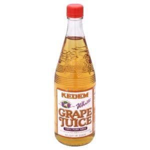 Kedem White Grape Juice,22-ounces (Pack of6)