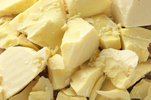 SaaQin Cocoa Butter, Pure, Raw And Unprocessed, Great For Lotion, Cream, Lip Balm, Oil, Stick, Or Body Butter, Cut Into Chunks, 1 lb.