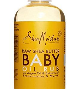 SheaMoisture Raw Shea Butter Baby Oil Rub,8 oz