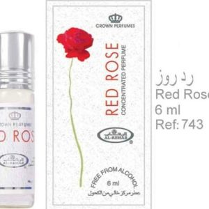 Al-Rehab Red Rose 6Ml (.2 oz) Perfume Oil