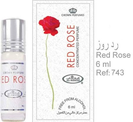 Al-Rehab Red Rose 6Ml (.2 oz) Perfume Oil